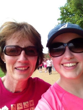My race for life buddy.